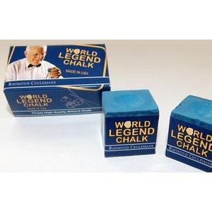 Ceulemans billiard chalk 2 pieces blue