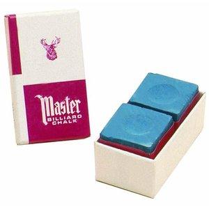 Master billiard chalk Blue 2 pieces