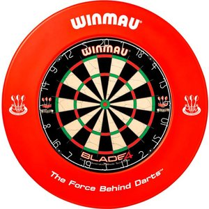 Winmau Catchring Red Print