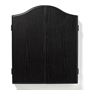 Winmau dartboard cabinet black