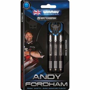 Winmau Andy Fordham steeltip dartpijlen 23gr