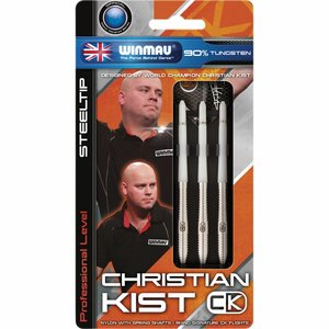 Winmau Christian Kist steeltip dartpijlen 22gr