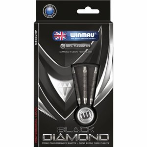 Winmau Black Diamond steeltip dartpijlen 22gr