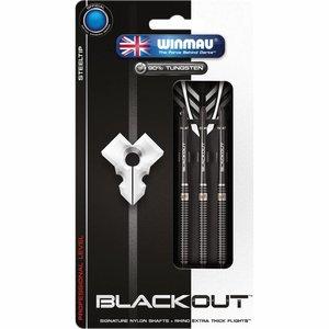 Winmau Blackout steel tip darts