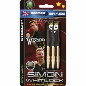 Winmau Simon Whitlock brass steeltip darts