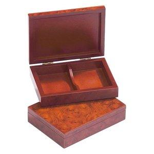 houten opberg box voor speelkaarten