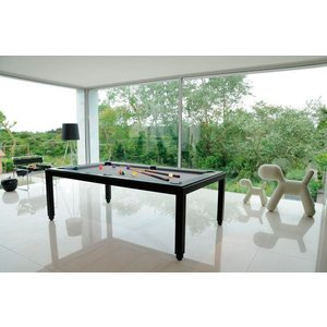 Fusion Table Powder Black 7ft