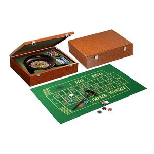 Roulette set Design 1 dia 25cm metalen wiel