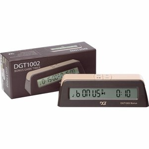DGT 1002 digitale schaakklok bonus timer