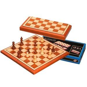 schaak cassette Belgrado 40x20 cm