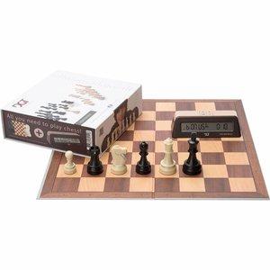 DGT schaak starterset bruin