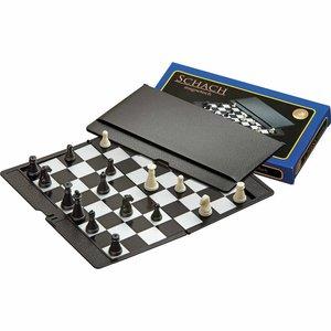 Philos reis schaakset magnetisch etui