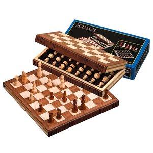 Philos travel chess set wood 30x15.5 cm