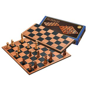 chess set, 27mm field