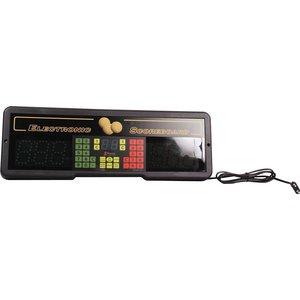 Scorebord Favero PLAY 8 met afstandbediening