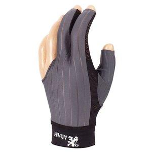 Biljart handschoen Adam Pro grijs