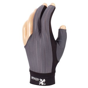 Billiard glove Adam Pro gray