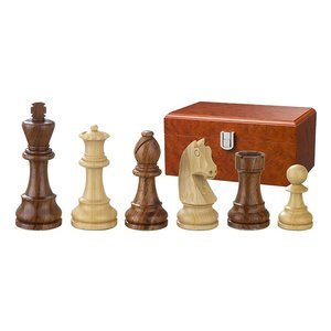 Chess pieces Artus 110mm double weighted
