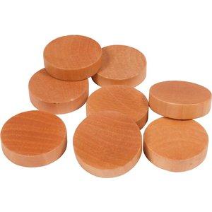Shuffleboard discs - 30 pieces - diameter 50 mm