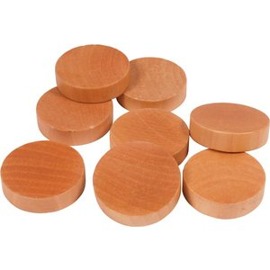 Shuffleboard discs 50 mm