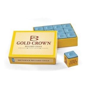 Billiard chalk Brunswick Cold Crown blue