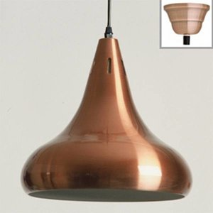 lamp classic red-copper high gloss