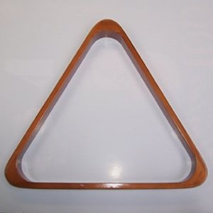 triangle hout - 57.2 mm Professional (Uitvoering: prof. hout mahonie)