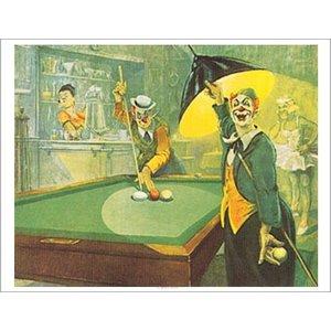 poster 'Clown' Bernard Leemker