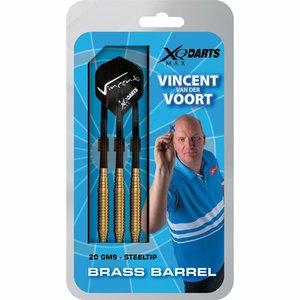 Vincent van der Voort Brass dartpijlen 20gr