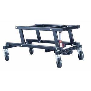 Pool billiard lift cart