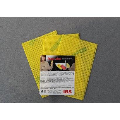Schuur en slijp IBS Magic Show cue shaft cleaner yellow