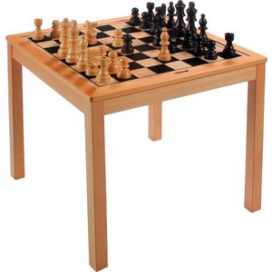 Chess-Dam Table 69x69x67cm
