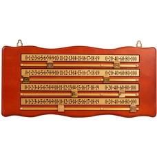 Snooker scoreboards