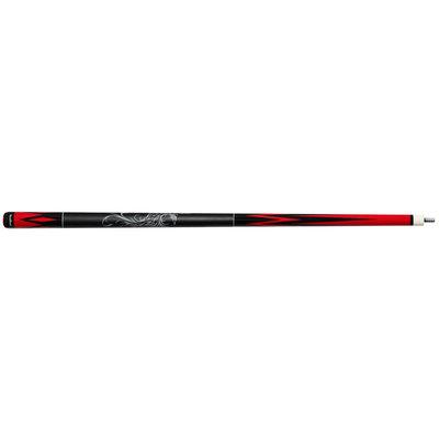 Carom cue NovaRossi Phoenix black / red