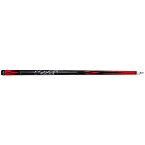 NovaRossi Carom cue NovaRossi Phoenix black / red