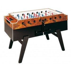 Foosball table Garlando Olympic briar wood without coin system