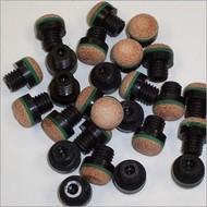 Pomeransen en doppen Billiard cue screw-on-tip 11 mm - Copy