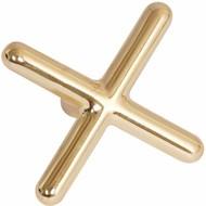 Bruggen en hulpkeuen Kruis brass