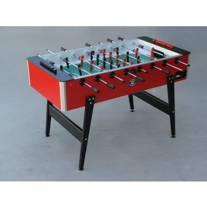 Foosball table Profi Deutscher Meister red