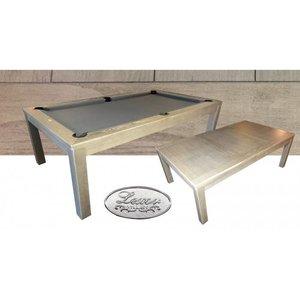 Pooltafel Cubic Old-Grey 8ft