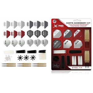 XQ-Max Dart Accessory Kit Steel Art
