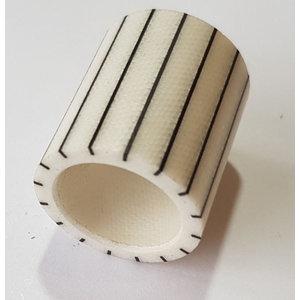 Billiard cue Middle ring plastic black stripe