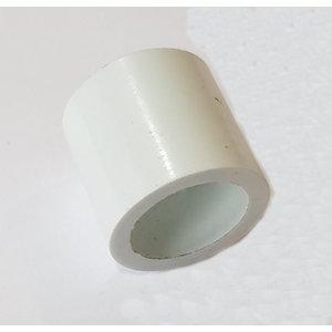 Biljart keu Middenring plastic wit 90010