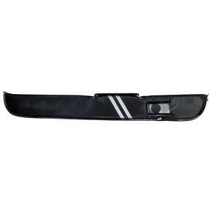 Keu Foudraal met rits model black/stripes 1B/1S
