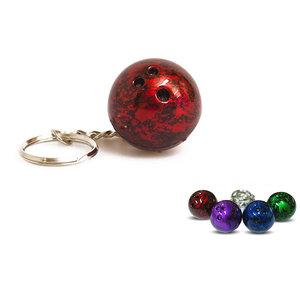 Keychain bowling ball