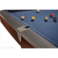 Brunswick Pool table Brunswick Gold Crown VI pool table matt black 9ft
