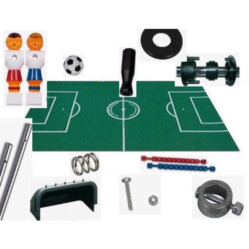 Complete set zelfbouw voetbaltafel