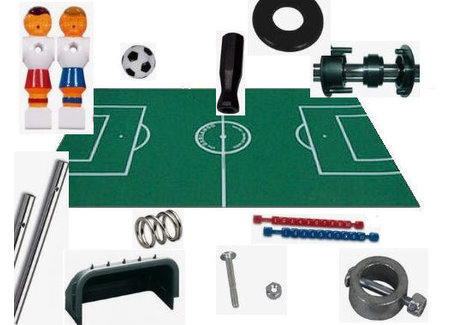 DIY construction football table