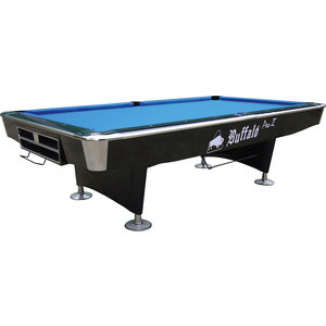 Pool table Buffalo Pro II 8 foot black or brown, drop pocket