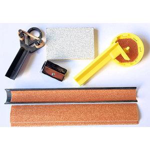 Biljart keu reparatie set VDB standaard (5 delig)